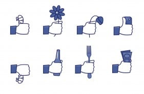 facebook ikoner