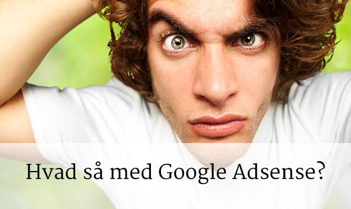 hvad med google adsense