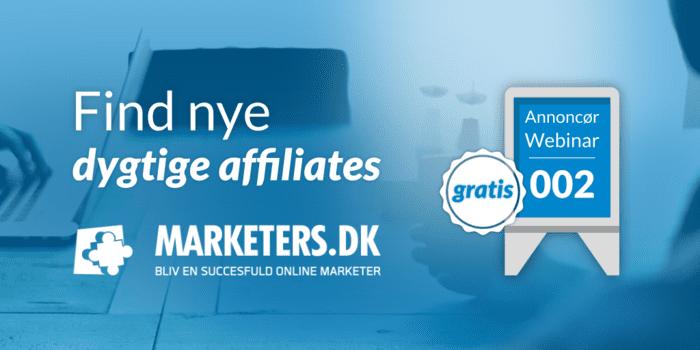 Find nye dygtige affiliates