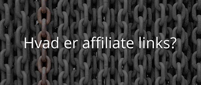 hvad er affiliate links
