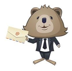 Mark laver e-mail marketing som en del af sin affiliate forretning