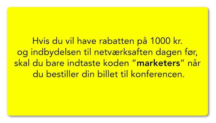 marketers rabat
