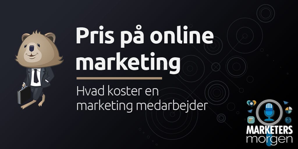 Pris på online marketing