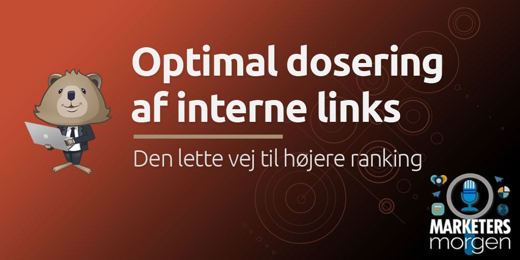 Optimal dosering af interne links