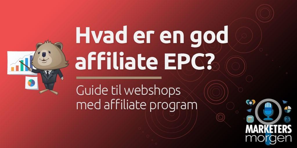 Hvad er en god affiliate EPC?