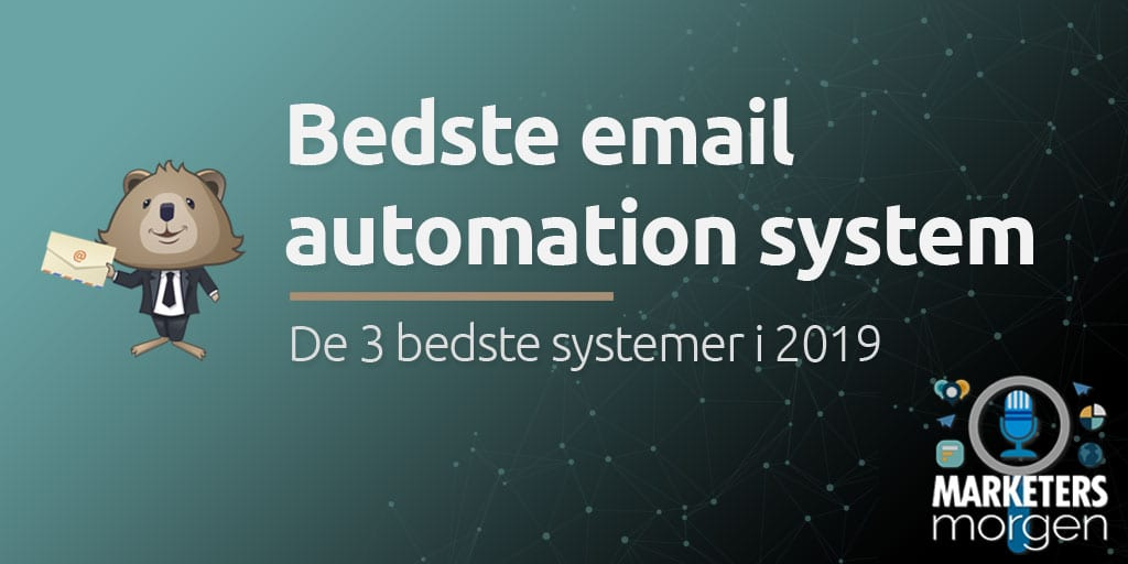Bedste email automation system
