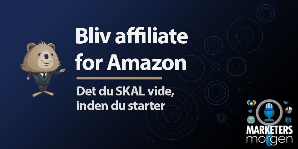 Bliv affiliate for Amazon