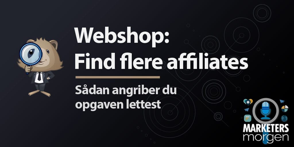 Webshop: Find flere affiliates