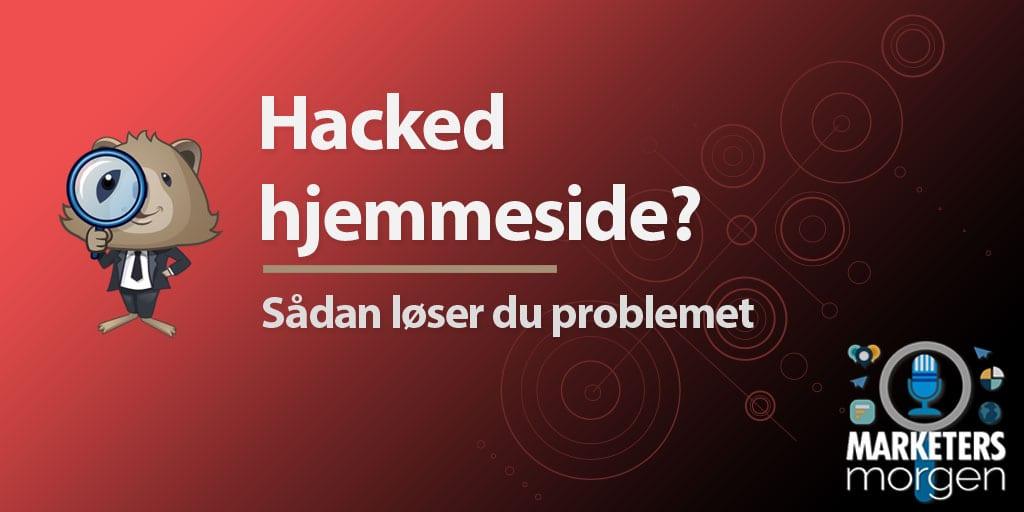 Hacked hjemmeside?