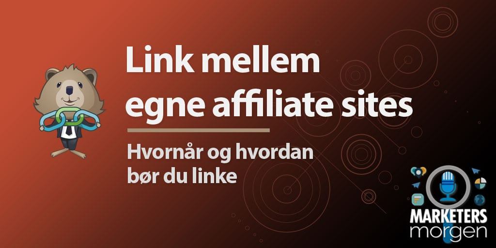 Link mellem egne affiliate sites