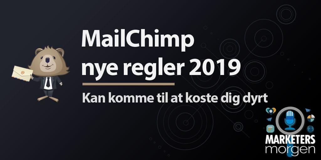 MailChimp nye regler 2019