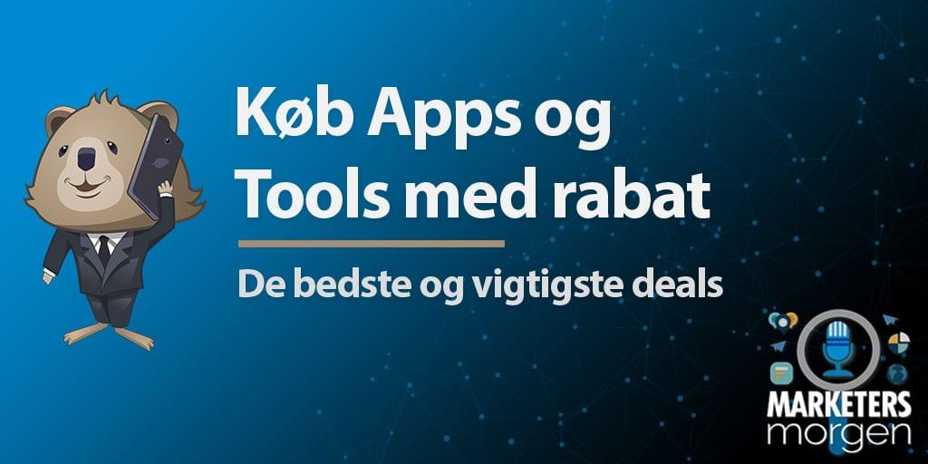 Køb Apps og Tools med rabat