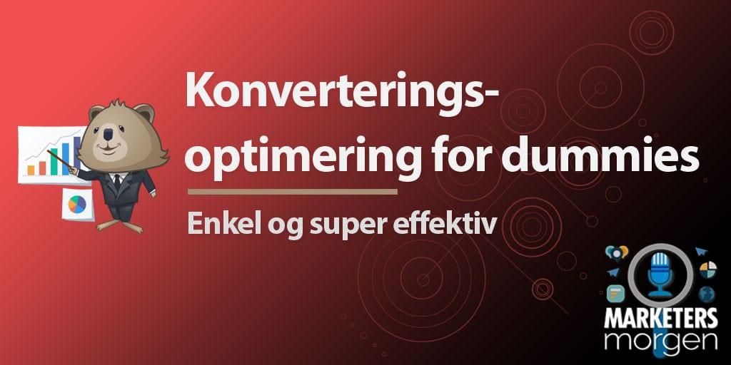 Konverteringsoptimering for dummies