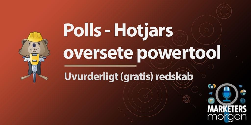 Polls - Hotjars oversete powertool