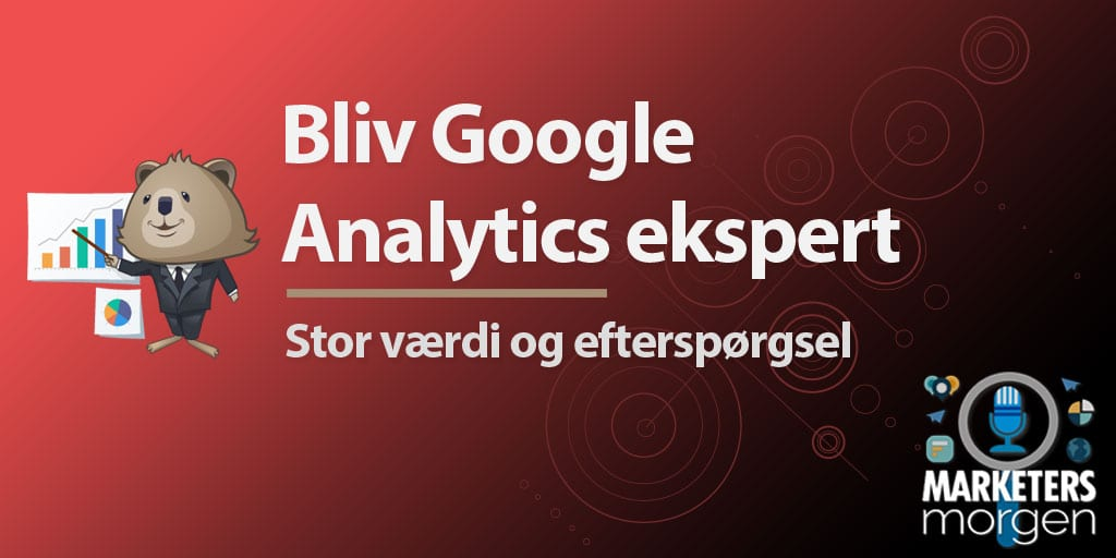 Bliv Google Analytics ekspert