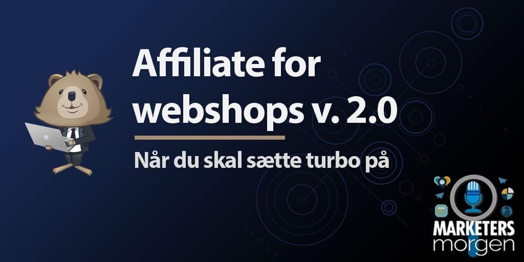 Affiliate for webshops v. 2.0