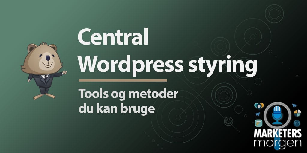 Central WordPress styring
