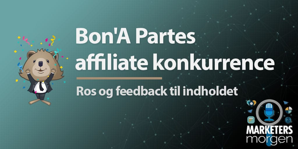 Bon'A Partes affiliate konkurrence