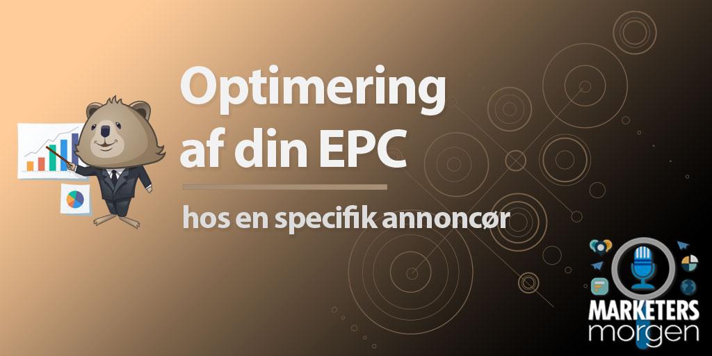 Optimering af din EPC – hos en specifik annoncør