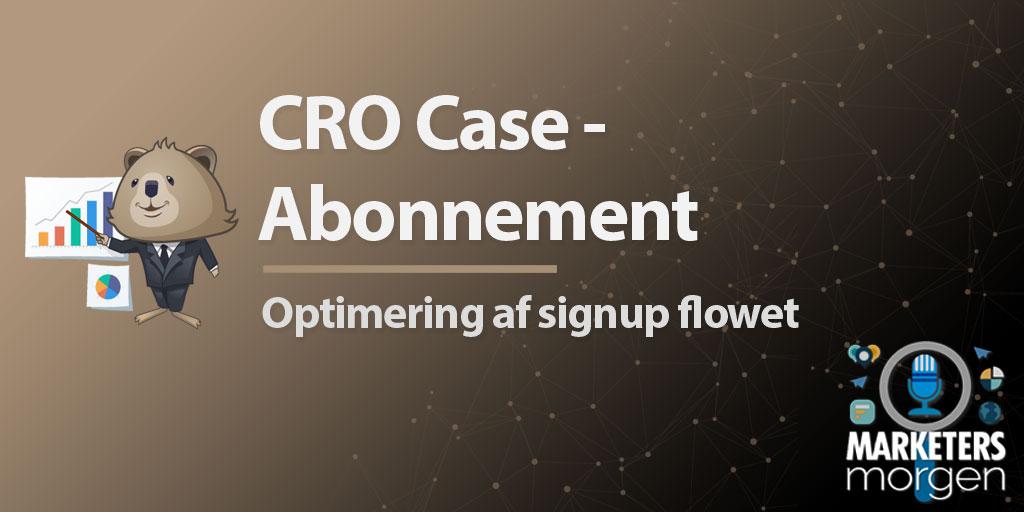 CRO Case - Abonnement
