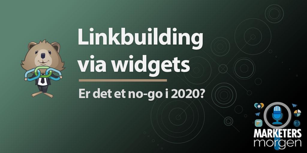 Linkbuilding via widgets