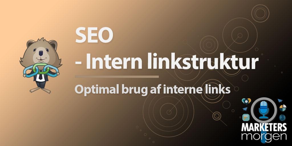 SEO - Intern linkstruktur