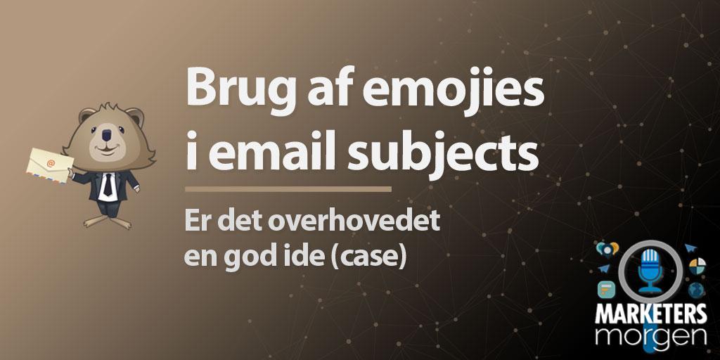 Brug af emojies i email subjects