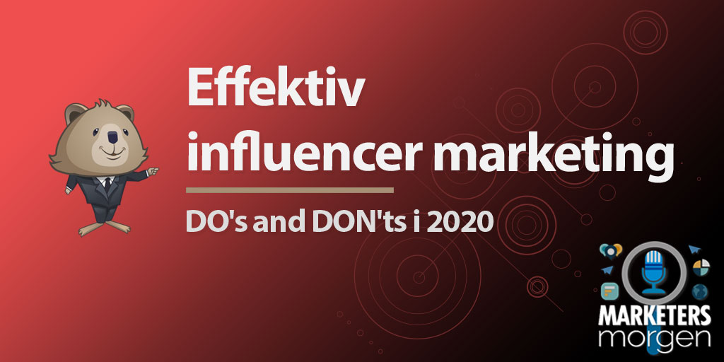 Effektiv influencer marketing