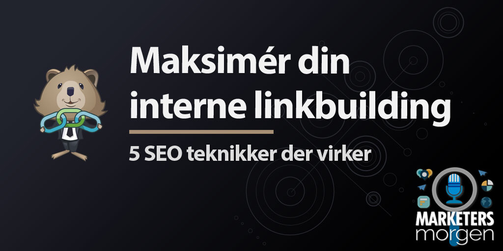 Maksimér din interne linkbuilding