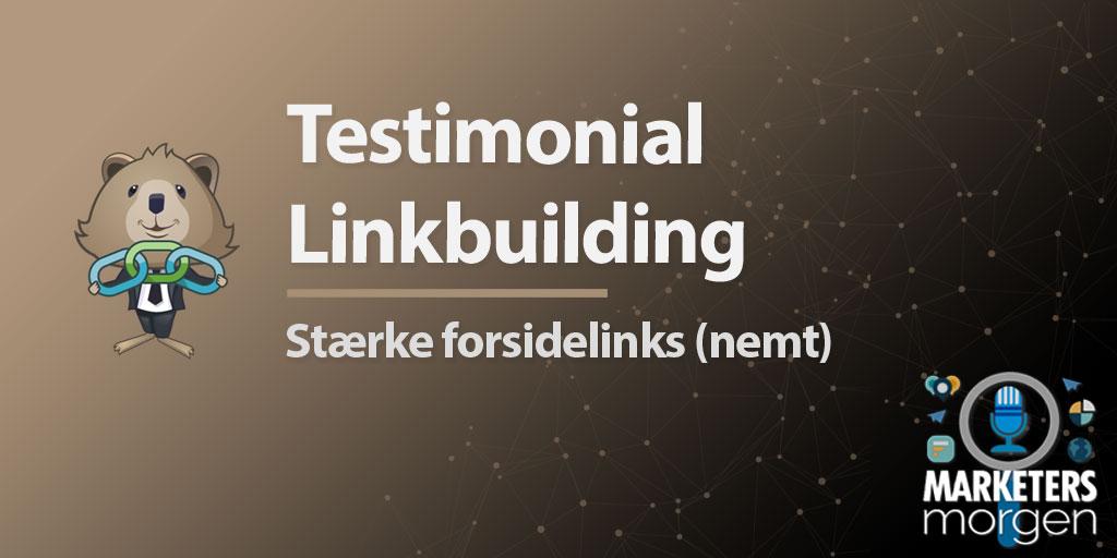 Testimonial Linkbuilding