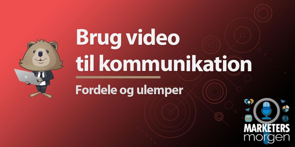 Brug video til kommunikation