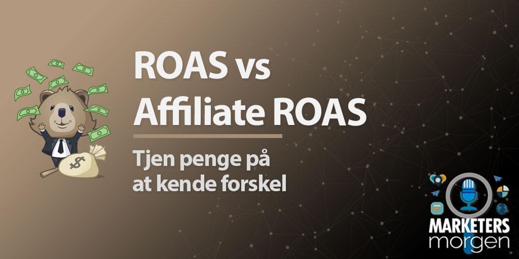 ROAS vs Affiliate ROAS
