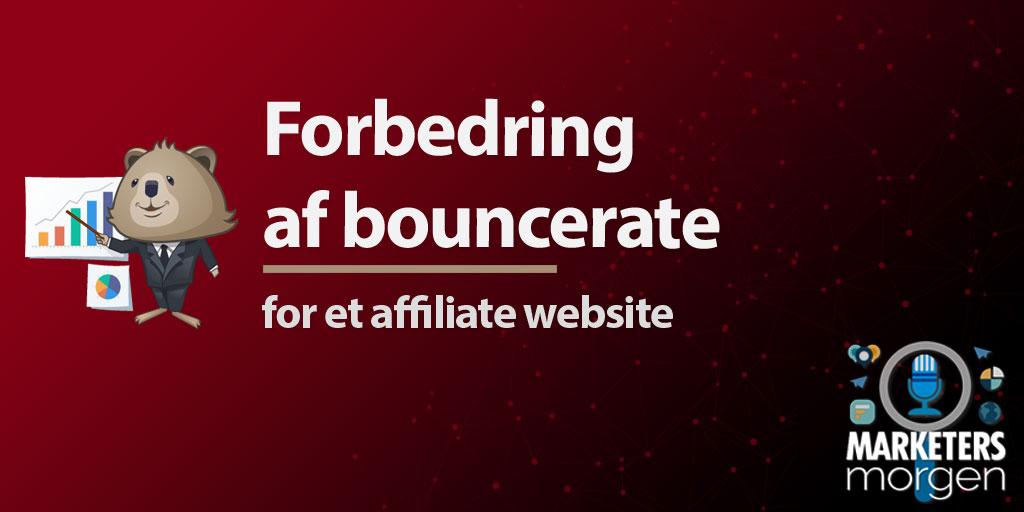 Forbedring af bouncerate