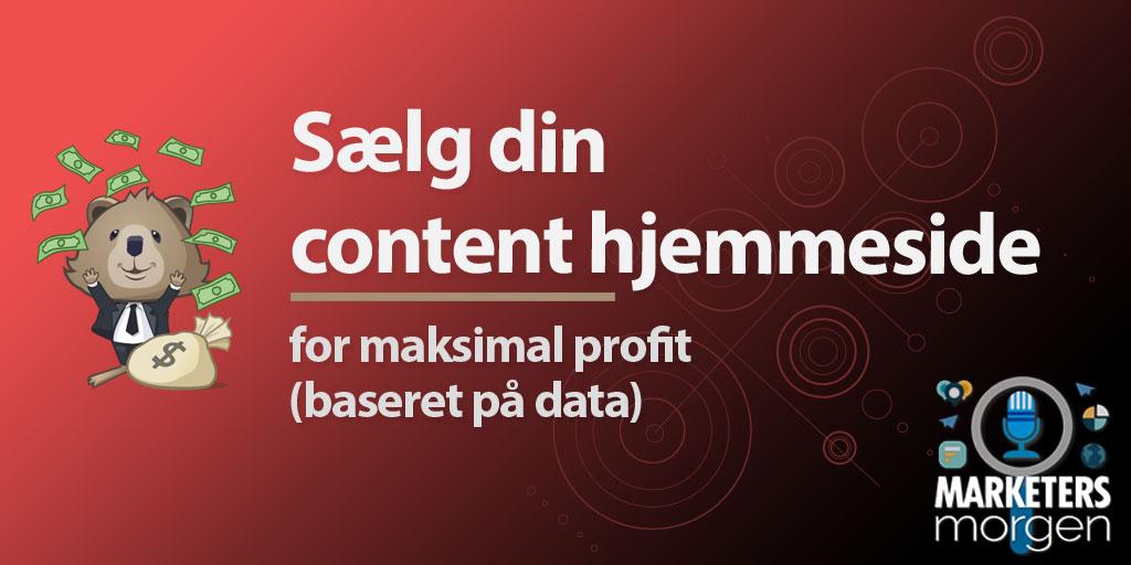Sælg din content hjemmeside