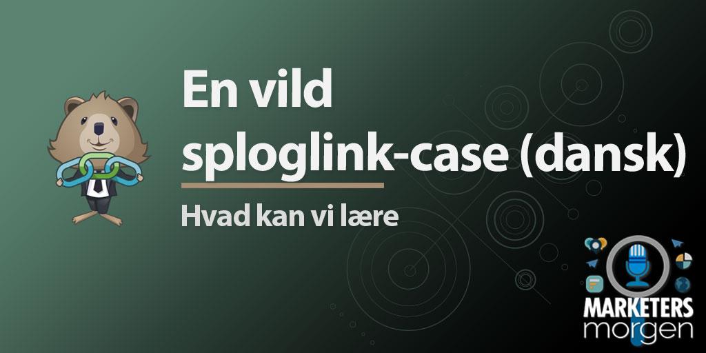 En vild sploglink-case (dansk)