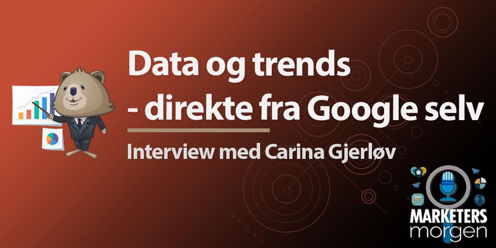 Data og trends - direkte fra Google selv