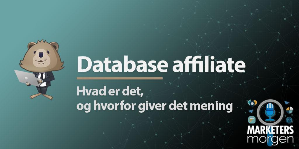 Database affiliate