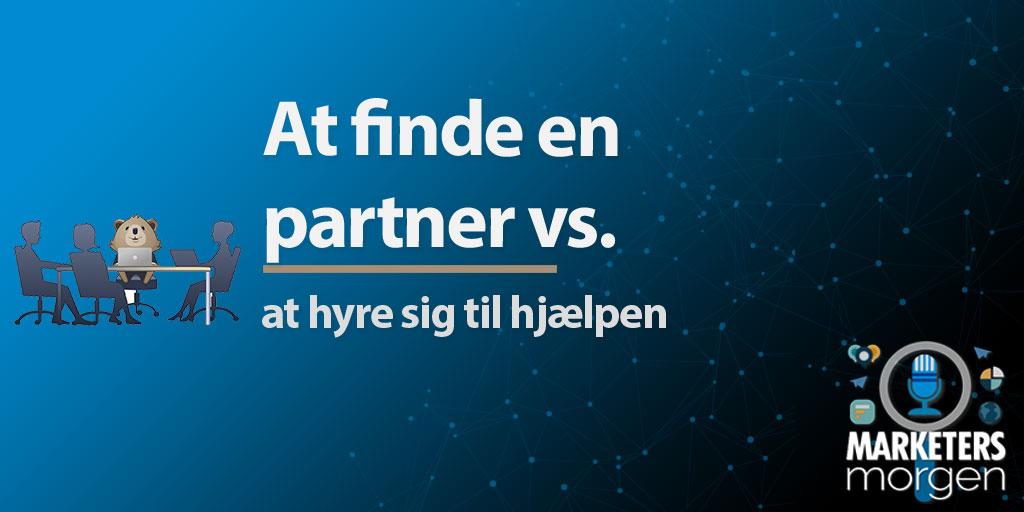 At finde en partner vs.