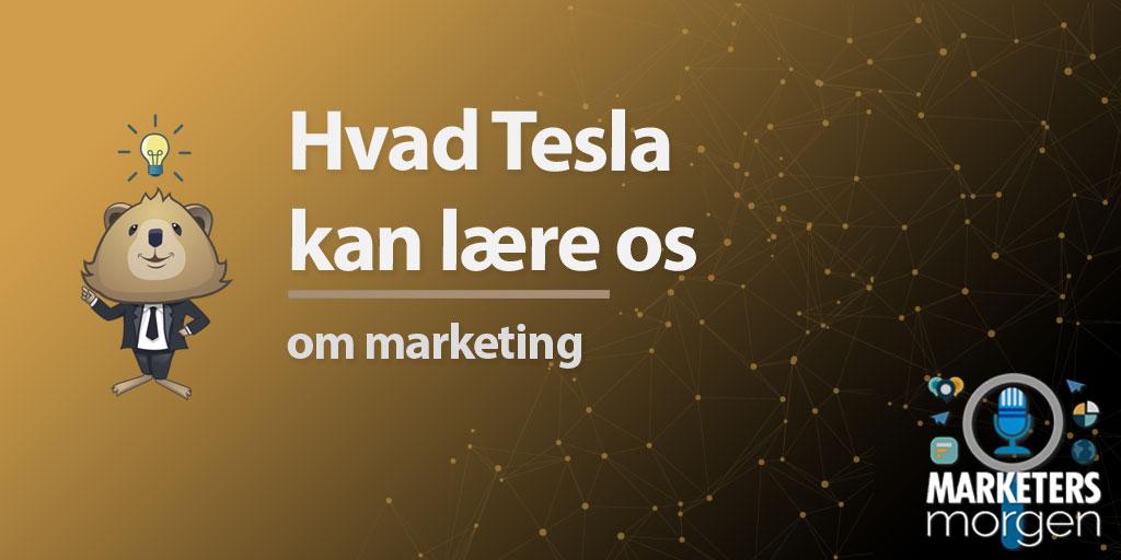 Hvad Tesla kan lære os