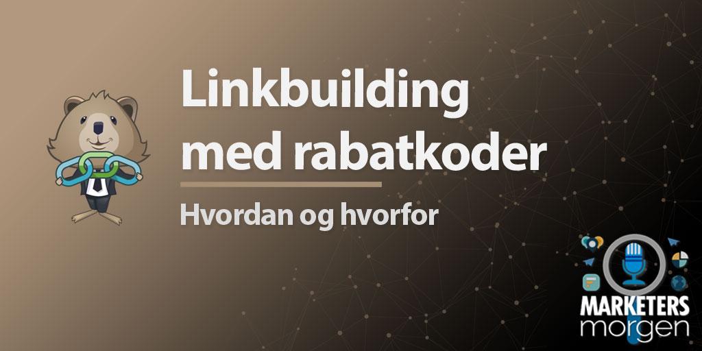 Linkbuilding med rabatkoder