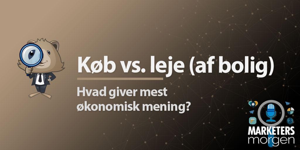 Køb vs. leje (af bolig)