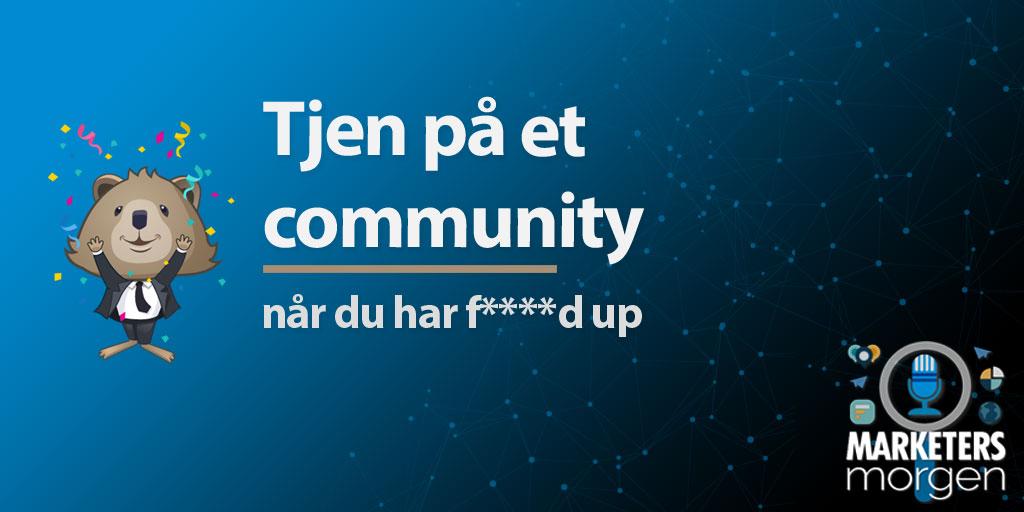 Tjen på et community