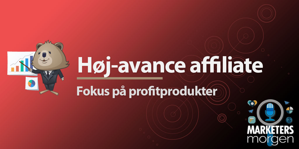 Høj-avance affiliate