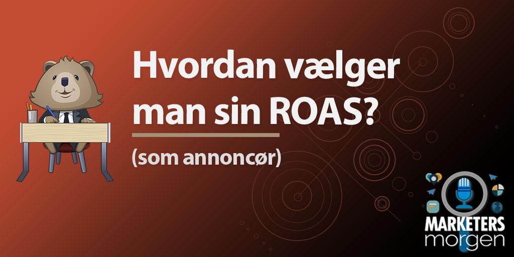 Hvordan vælger man sin ROAS?