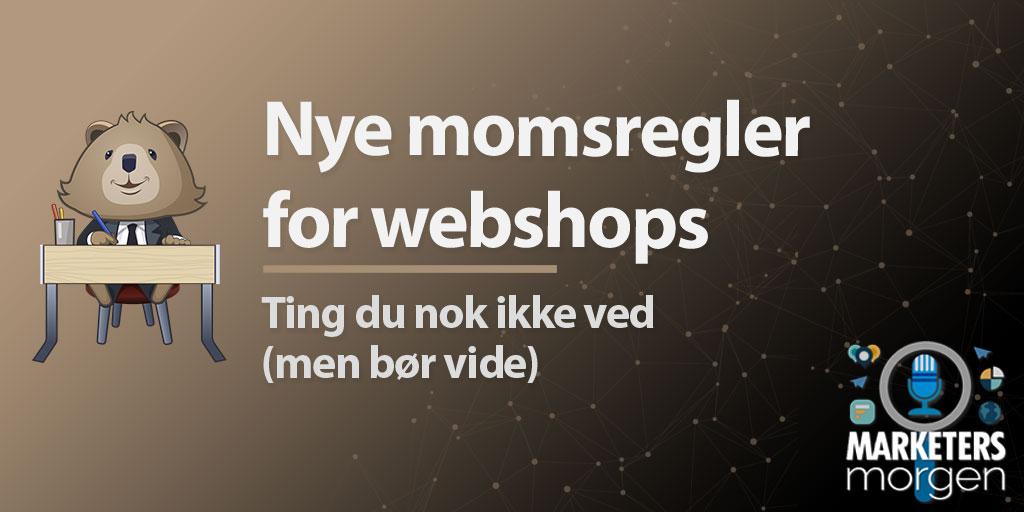 Nye momsregler for webshops