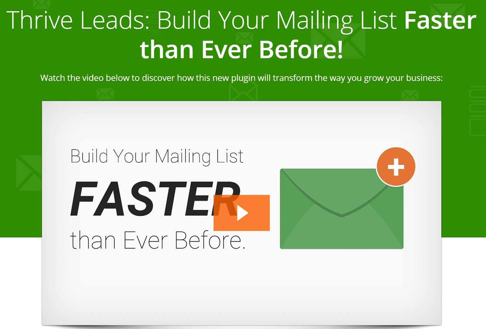 thriveleads email popup affiliate marketing tools